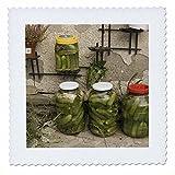 3dRose QS 82497_ 2Rumänien, cheia, bewahrt Gemüse,