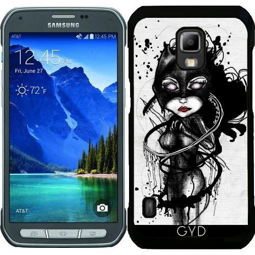 (DesignedByIndependentArtists Hülle für Samsung Galaxy S5 Active - Krallen Lynx by Rouble Rust)