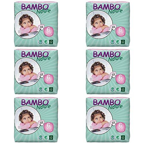 Bambo Nature extra grande corto–Estuche de 6
