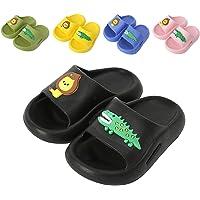Toddler Kids Slide Sandals Boys Girls Summer Slippers Infant Dinosaur Beach Slider Slippers Pool Shoes Flip Flops