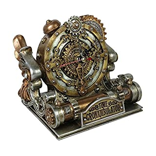 Alchemy Gothic: Time Chronambulator Desk Clock