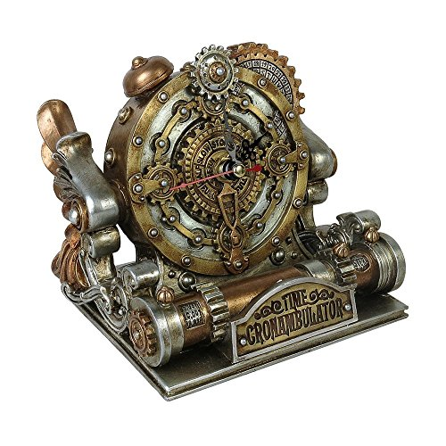 Orologio chronambulator mantle alchemy gothic