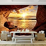 Fototapete Strand 352 x 250 cm - Vliestapete - Wandtapete - Vlies Phototapete - Wand - Wandbilder XXL - !!! 100% MADE IN GERMANY !!! Runa Tapete 9071011a