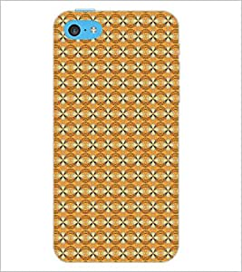 PrintDhaba Pattern D-5270 Back Case Cover for APPLE IPHONE 5C (Multi-Coloured)