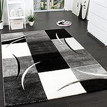 Teppich grau schwarz  Suchergebnis auf Amazon.de für: teppich schwarz weiß