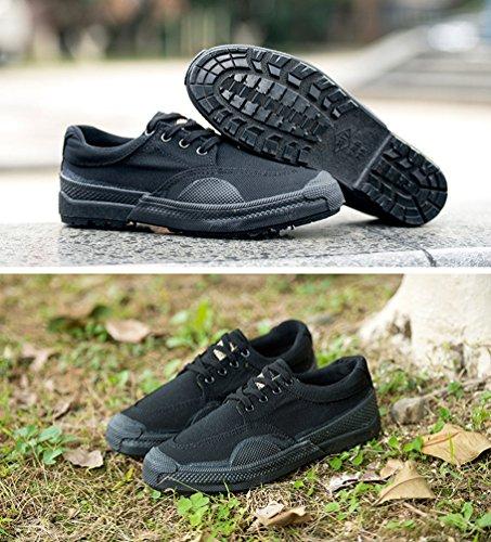 Dooxi-Donna-o-Uomo-Casuale-Sportive-Formazione-Sneakers-Durevole-Piatto-Basse-Tela-Scarpe