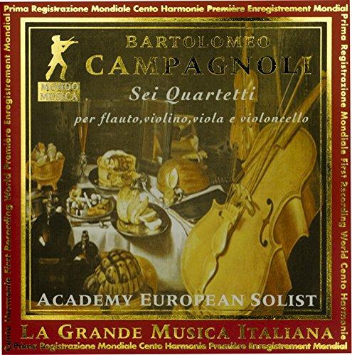 Preisvergleich Produktbild Campagnoli 6 Quartet Travers