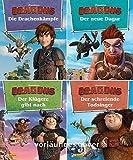 Nelson Mini-Bücher: 4er DreamWorks Dragons 9-12