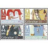 Gibraltar 1391-1394 (completa.edición.) 2010 Girl Scouts (sellos para los coleccionistas)