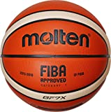 Molten Basket Ball – Orange/Ivory, 7, BGF7X-X