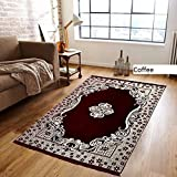 #8: Designer Stylish Abstract Chenille Heavy Quality Carpet 7 feet (Length) x 5 Feet(width) For Home Decoration By The Decor Hub