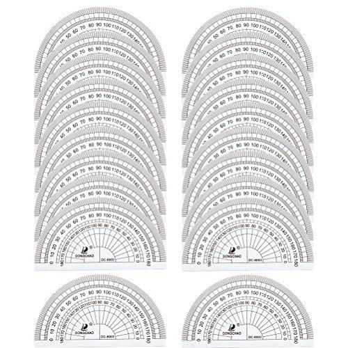 sicai-winkelmesser-180-grad-messung-winkel-kunststoff-winkelmesser-fur-student-mathematische-prufung