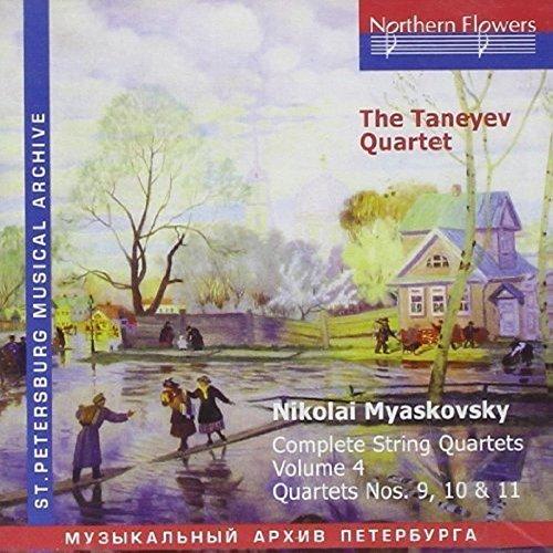 N. Miaskovsky - Complete String Quartets. Vol. 4, Quartets Nos. 9, 10, 11