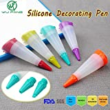 Generic 5colors Cake Cream Nozzle Decora...