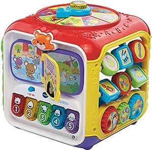 VTech Baby Activiteiten Kubus Juguete interactivos - Juguetes interactivos, plástico, 3 año(s), Niño/niña, Holandés, CE