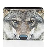 Shagwear - Monederos para hombre jóvenes: Varios colores y diseños: (Lobo/Wolf)