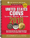 A Guide Book of United States Coins 2018: The Official Red Book, Large Print Edition