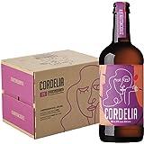 Birra ZEROCINQUANTA CORDELIA IPA non filtrata birra italiana, 12 bottiglie da 0.50l