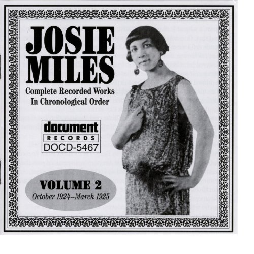 Josie Miles Vol. 2 (1924-1925)