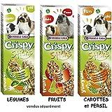 ANIDIS (VERSELE) Versele Laga Snack Crispy Sticks Obst
