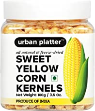 Urban Platter Freeze-Dried Sweet Corn Kernels, 100g [All Natural, Gluten-Free, 2 Years Shelf Life]
