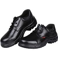 Karam ISI marked men's deluxe workman safety shoeblack, FS05BL