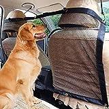 LYTIVAGEN Auto Haustier Netz Hundenetz Universal Sicherheit Netz 133 x 22cm Trennnetz mit Haken und Seil für Hunde, Katzen und andere Haustiere