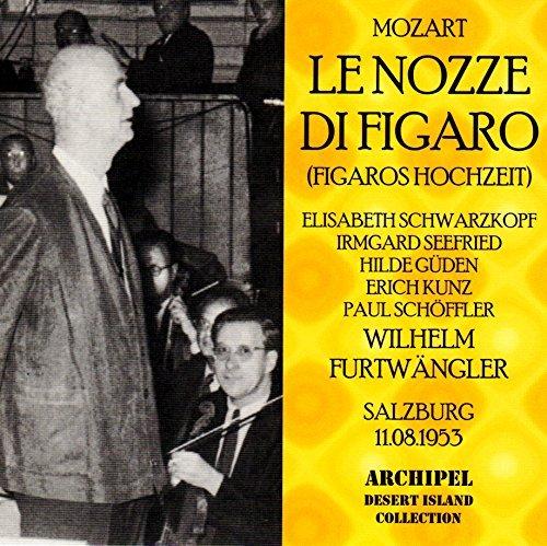 Les Noces De Figaro (Salzbourg, 1953), Chanté En Allemand