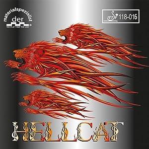 Der Materialspezialist Belag Hellcat (halblange Noppe)