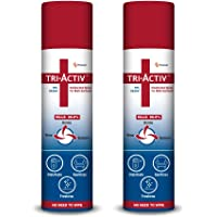 Tri-Activ 70% Alcohol Based Disinfectant Spray for Multi-Surfaces - 100 ml - Pack of 2
