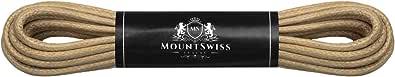 Mount Swiss© - Lacci cerati, per scarpe eleganti