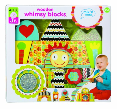 Mix 'n Max Wooden Whimsy Blocks