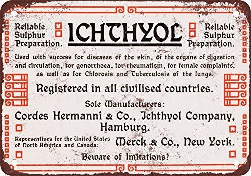 1904-ichthylol-zolfo-medicina-vintage-look-reproduction-metal-tin-sign-203-x-305-cm