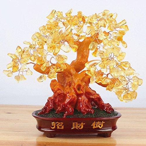 crazysell-grande-bonsai-con-quarzo-corniola-altezza-241-cm-cristalli-naturali-per-fortuna-ricchezza-