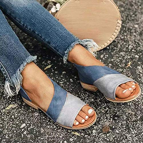 European Beauty Sandals Summer New Fish Mouth Color Matching Flat Heel Set with Women Sandals