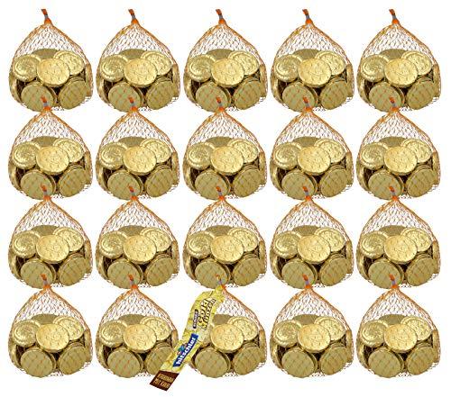 hitschler Goldmünzen Kaubonbon, 20er Set (20 x 150g Beutel)