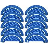 SovelyBoFan 10 piezas de tela trapeador insertos para Conga Serie 1090 Robot Partes de aspirador Accesorios Telas Mop Insert