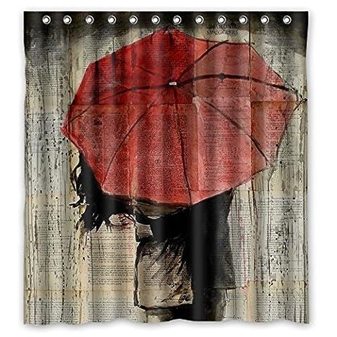 personnaliser Operating Vie Rideau de douche élégant imperméable à l'eau Tissu de polyester Rideau de douche en tissu décoratif, Polyester, Umbrella,