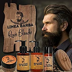 Tratamientos - Productos para Barba - Beard Line Renee Blanche - champú, balsamo, cera ,aceite KIT / SET (KIT DE BARBA y pincel)