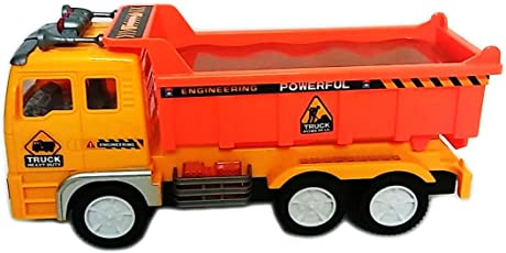 Kids_Bazar Truck with Electric Flash Light and Rotating Toy