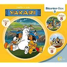 """Yakari - """"Starter-Box 3"""" - Folge 7 bis 9, Die Original-Hörspiele zur TV-Serie"""