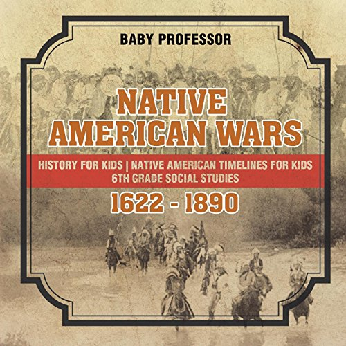 Native American Wars 1622 - 1890 - History for Kids | Native American Timelines for Kids | 6th Grade Social Studies