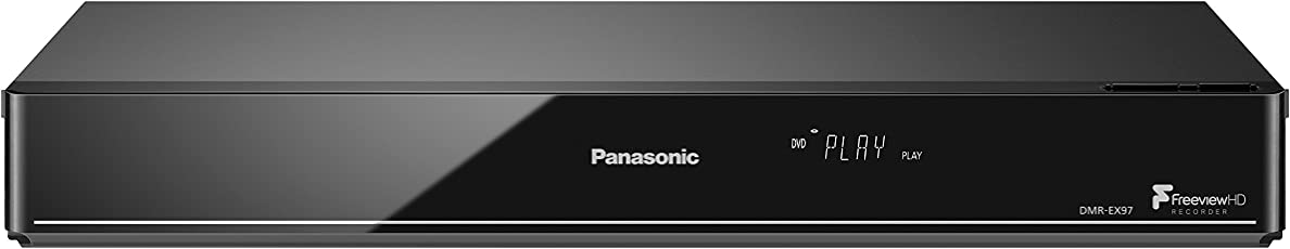 Panasonic DMR-EX97EB-K DVD Recorder (MULTIREGION Playback) with Freeview HDD and 500 GB HDD Inc