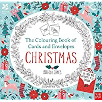 National Trust: The Colouring Book of Cards and Envelopes - Christmas (Colouring Cards and Envelopes Series)
