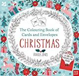 National Trust: The Colouring Book of Cards and Envelopes - Christmas (Colouring Books of Cards and Envelopes)