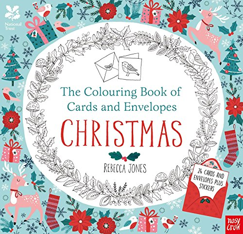 National Trust: The Colouring Book of Cards and Envelopes - Christmas (Colouring...