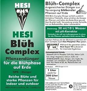 HESI maillot complex fleur pH-correcteur grow engrais liquide 20L