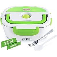 GHB Boîte Chauffante Lunch Box Chauffante Électrique 220V Boîte Alimentaires Boîte Repas en Acier Inoxydable à Pique…