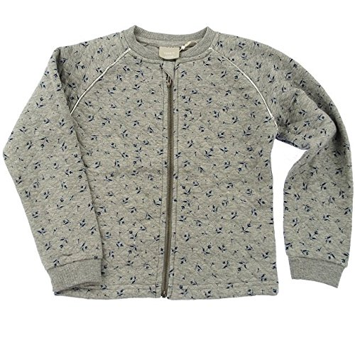 Name It Liquilt LS Sweat Cardigan Grey Melange 13118886 Kids-146-152