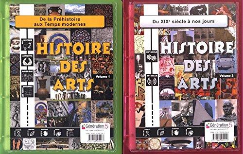 Histoire des arts Cycle 3 : 2 volumes